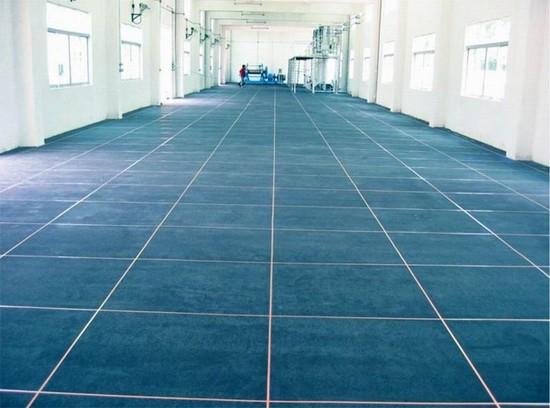 环氧树脂防静电地坪1