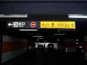 燈箱指示牌