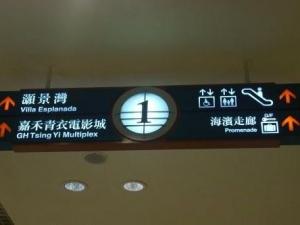 燈箱指示牌33